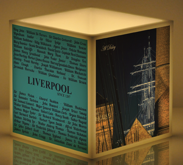 'Grand Liverpool' - 15cm x 15cm